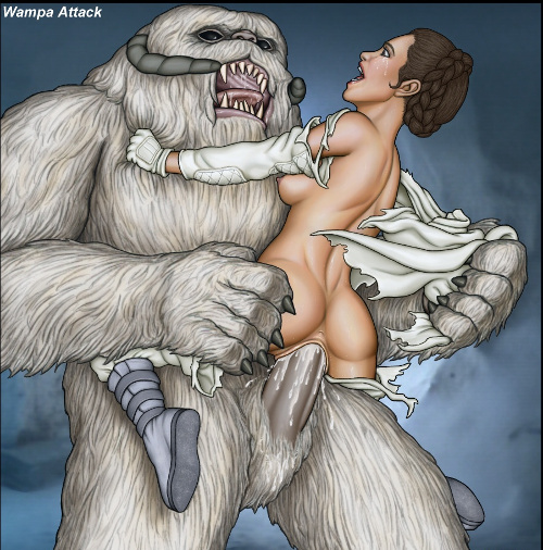 Star wars princess leia and chewbacca porn exclusively